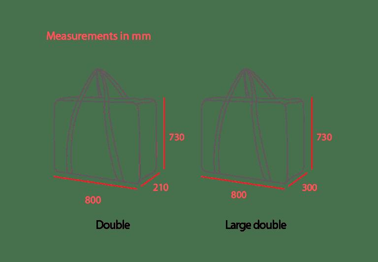Double Bag Measurements