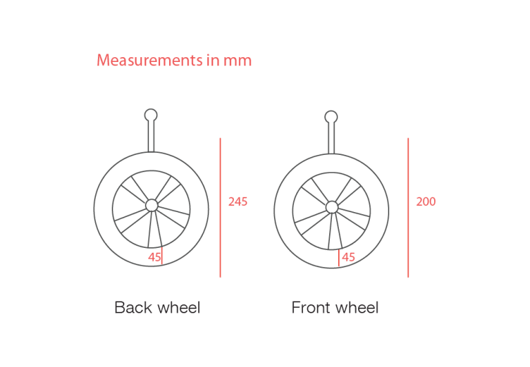 Sportspack Measurements