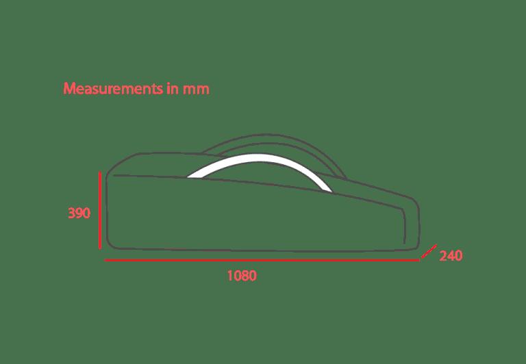 Umbrella Storage Measurements